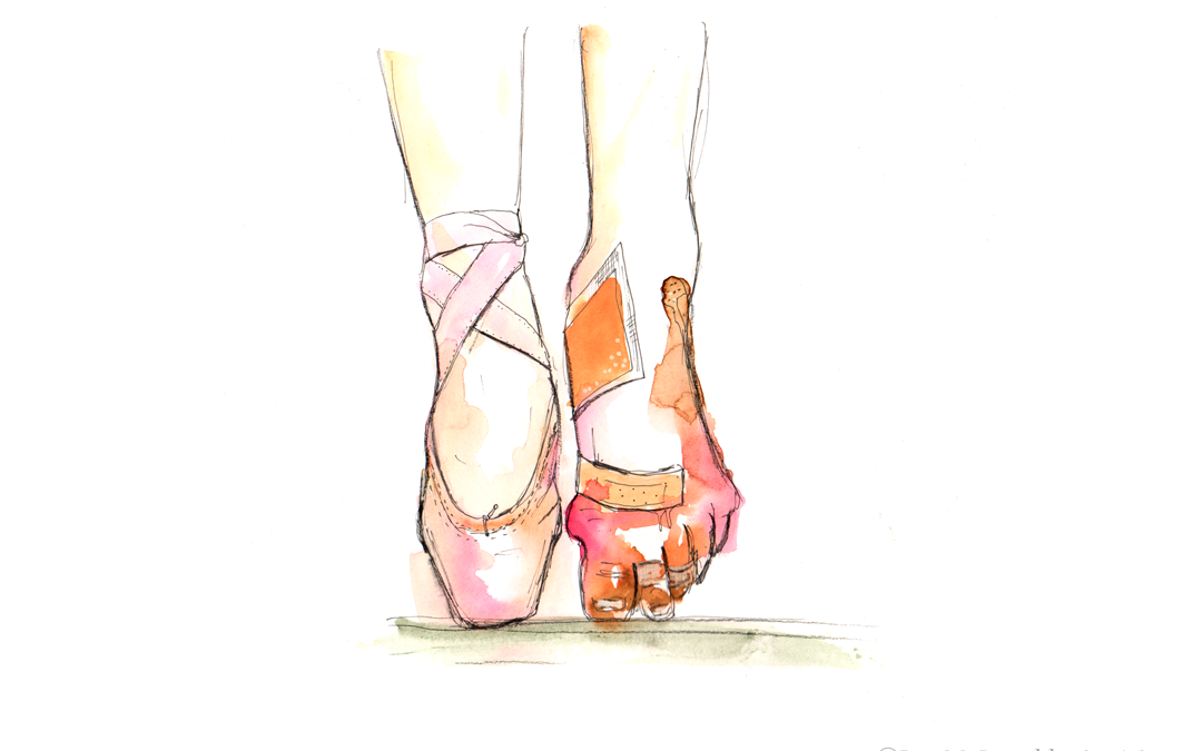 Ballet shoes off: I am not okay …